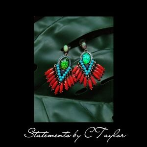 Gorgeous Colorblocked Earrings